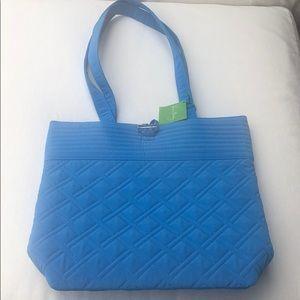 NWT Vera Bradley Coastal Blue Tote Bag